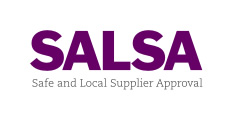 we are a SALSA approved supplier