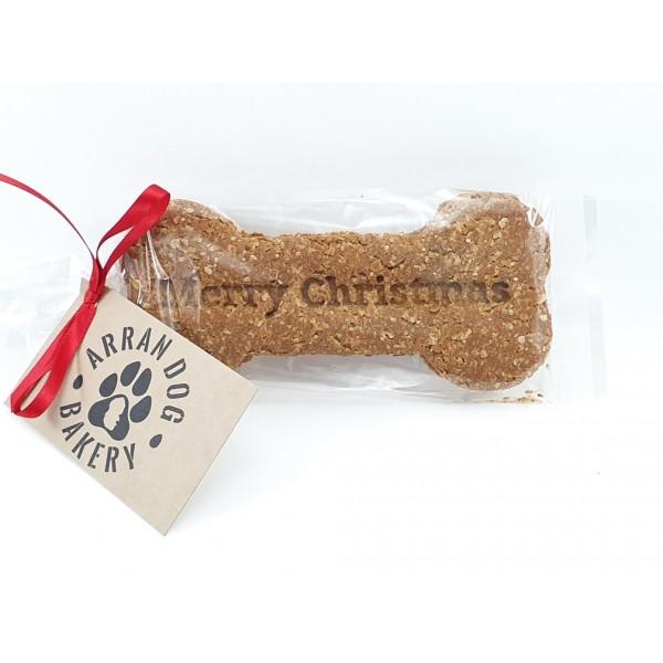 Handmade Arran Dog Biscuit/Bone