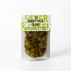 Fruity Pitted Green Olives