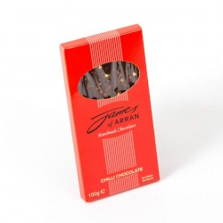 James Chocolates Luxury bar of Chilli Chocolate
