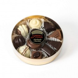James Chocolates Assorted Round Box
