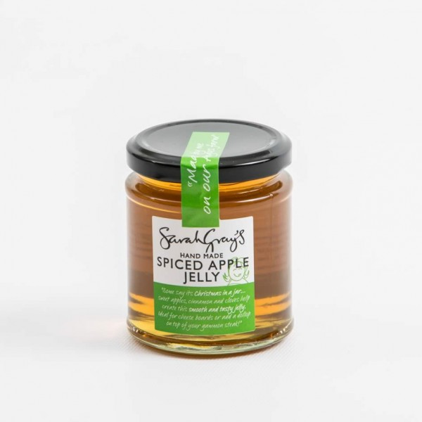 Handmade Spiced Apple Jelly