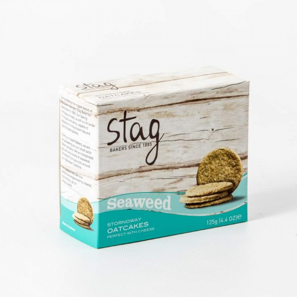 Stag Seaweed Oatcakes