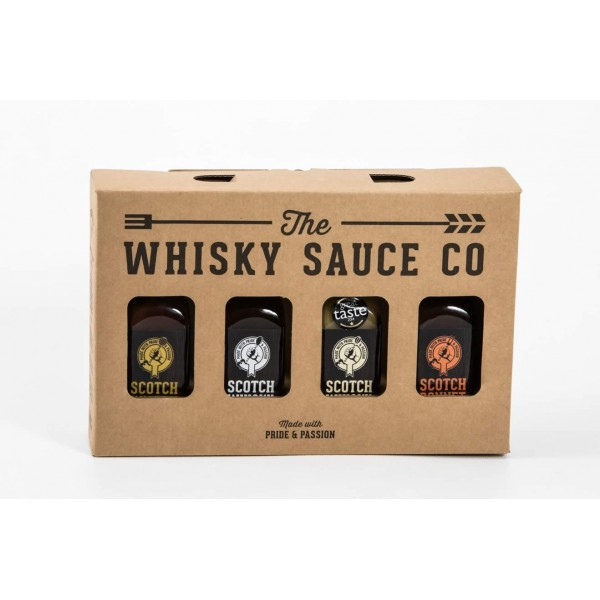 Whisky Sauce Company 4 pack
