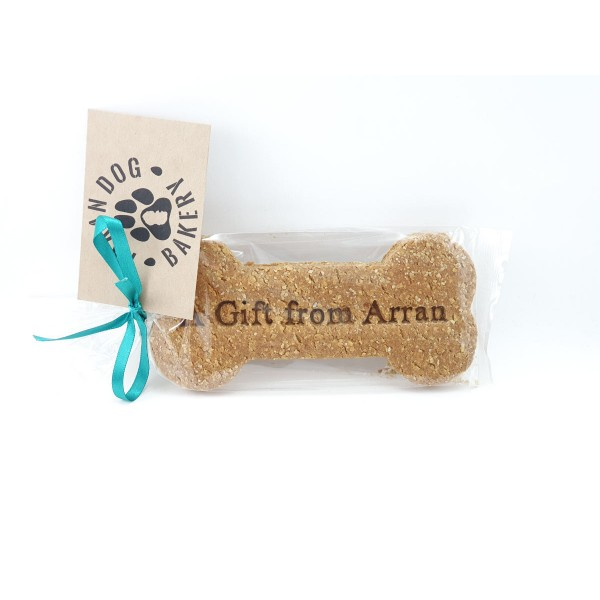 Handmade Arran Dog Biscuit/Bone