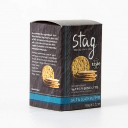 Stag Salt & Pepper Water Biscuit